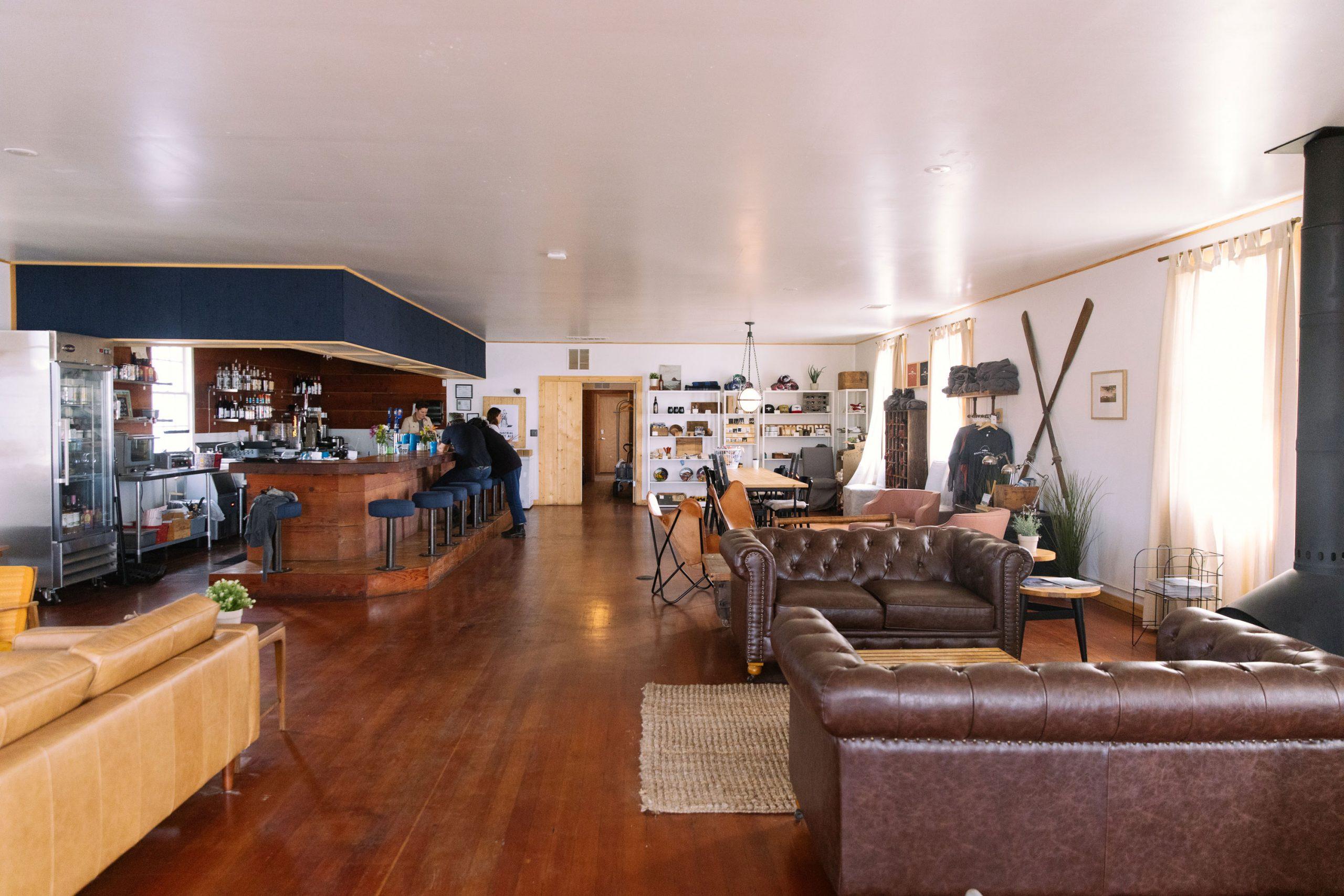 Humboldt Bay Social Club Lobby Bar