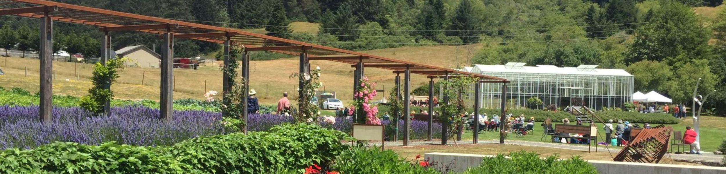 Humboldt Botanical Garden Summer Music Series- North Coast Brass Ensemble
