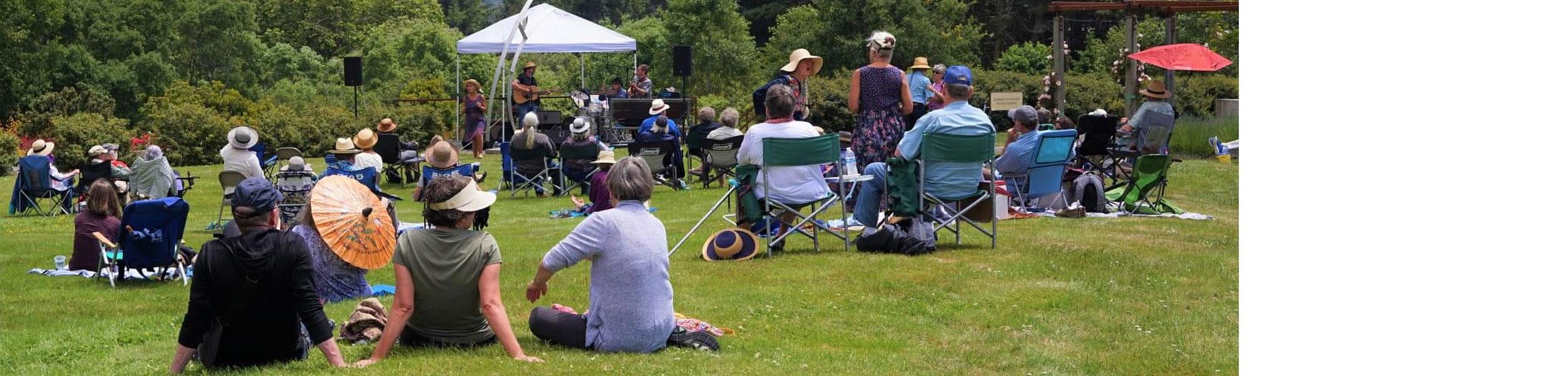 Humboldt Botanical Garden Summer Music Series- James Zeller Trio
